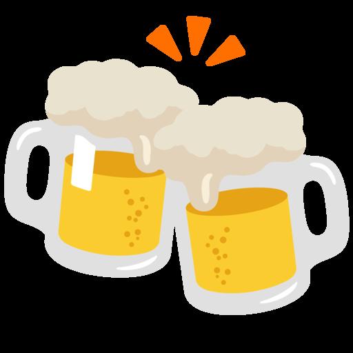🍻 Clinking Beer Mugs Emoji   Copy & Paste   Get Meaning ...