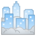 Android Pie; U+1F301; Emoji