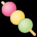 Android Pie; U+1F361; Emoji