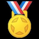 Android Pie; U+1F3C5; Emoji