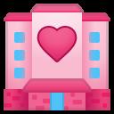Android Pie; U+1F3E9; Emoji