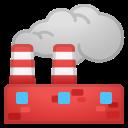 Android Pie; U+1F3ED; Emoji