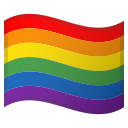 Google (Android 10); LGBT Flag, Gay Flag