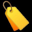 Android Pie; U+1F3F7 U+FE0F; Emoji