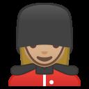 Android Pie; U+1F482 U+1F3FC U+200D U+2640 U+FE0F; Emoji