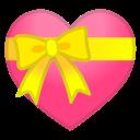 Android Pie; U+1F49D; Emoji