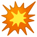 Android Pie; U+1F4A5; Emoji