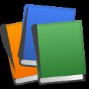 Android Pie; U+1F4DA; Bücher Emoji