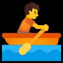 Android Pie; U+1F6A3; Emoji