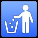 Android Pie; U+1F6AE; Emoji