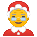Android Pie; U+1F936; Mother Christmas Emoji