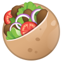 Android Pie; U+1F959; Emoji