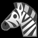 Android Pie; U+1F993; Zebra Emoji