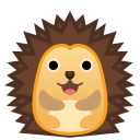 Android Pie; U+1F994; Hérisson Emoji