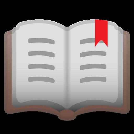 Open Book Emoji