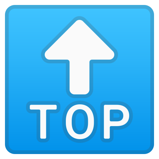? Freccia TOP Emoji