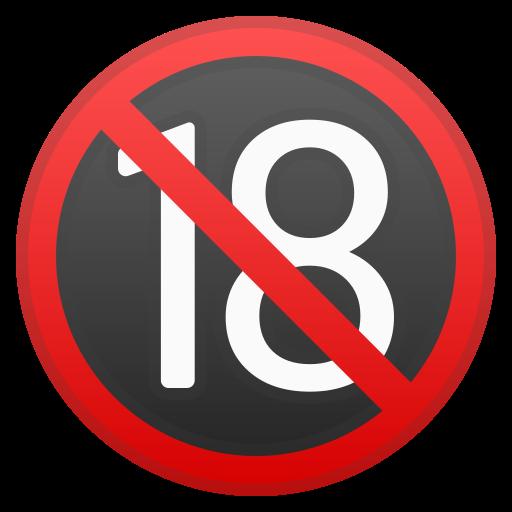 ???? 18 Ans Et Plus Emoji