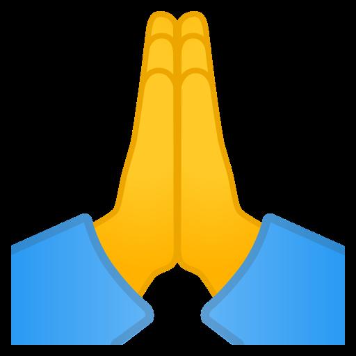 Mains En Priere Emoji