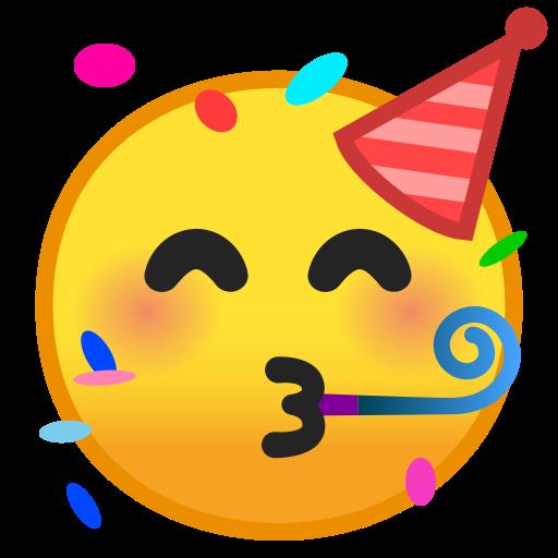 Visage Festif Emoji