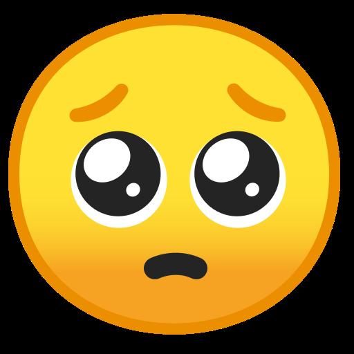 🥺 Cara De Por Favor Emoji