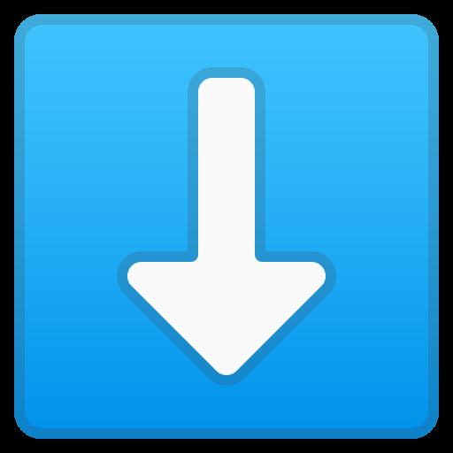 ⬇️ Flèche Bas Emoji