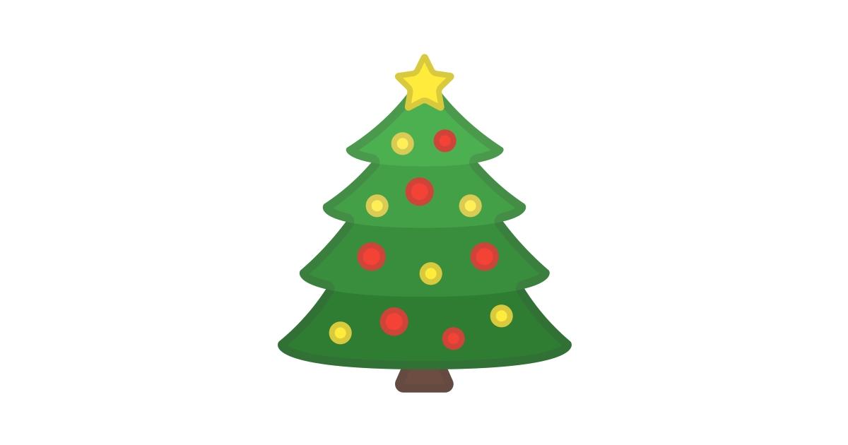"""Attēlu rezultāti vaicājumam """"christmas tree emoji"""""""