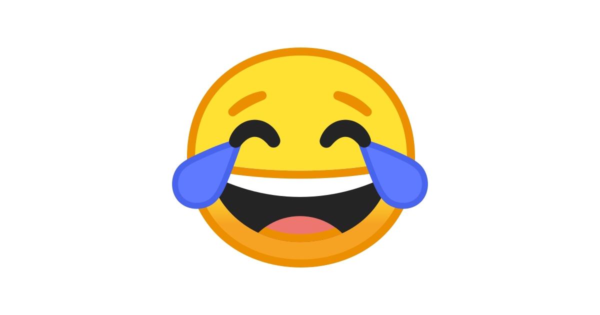😂 Visage Riant Aux Larmes Emoji