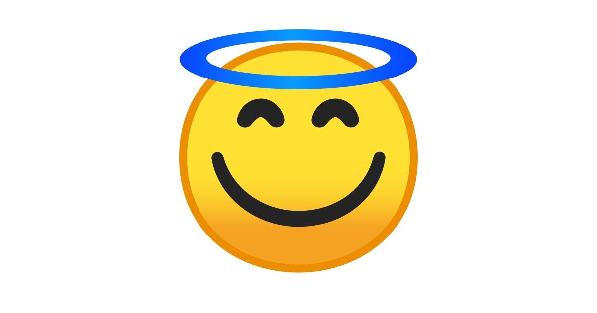 emoticon heiligenschein