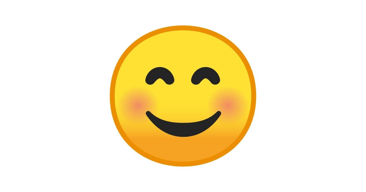 😊 Cara Feliz Con Ojos Sonrientes Emoji