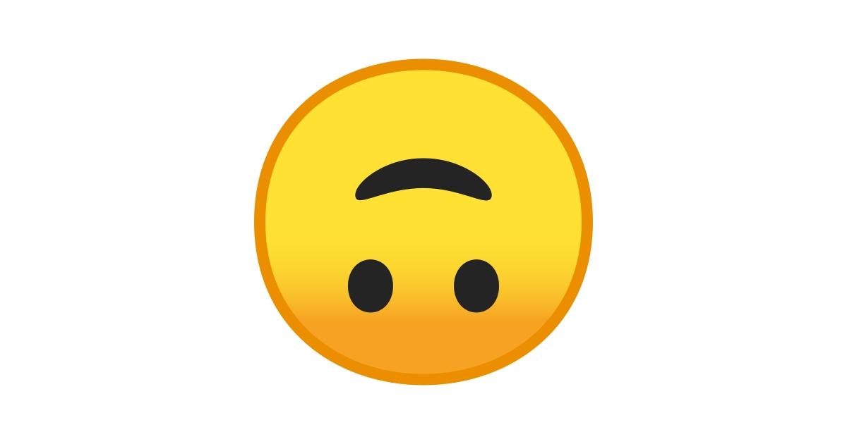 🙃 Cara Al Revés Emoji