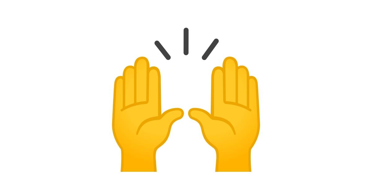 🙌 Manos Levantadas Celebrando Emoji