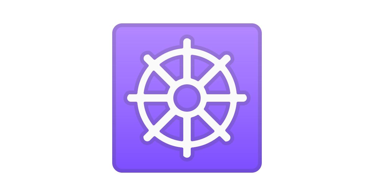 ☸️ Wheel Of Dharma Emoji