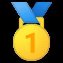 Google (Android 11); Goldmedaille-Emoji
