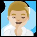 Google (Android 11); Hombre En Cuarto De Vapor: Color De Piel 3