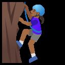 Google (Android 11); Mujer Escalando: Color De Piel 5