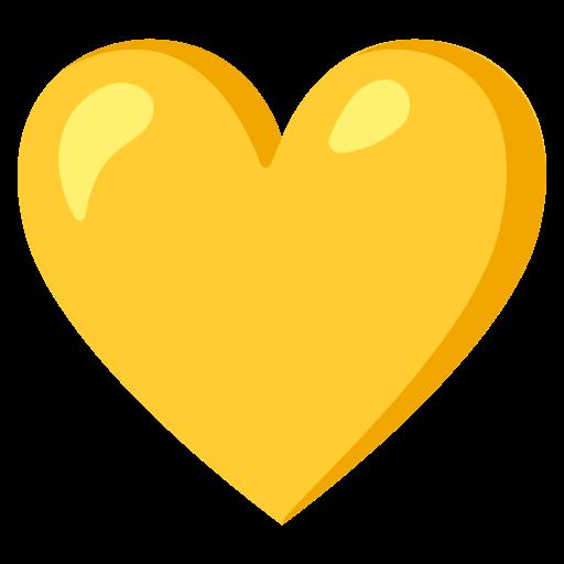 Cuore Giallo Emoji