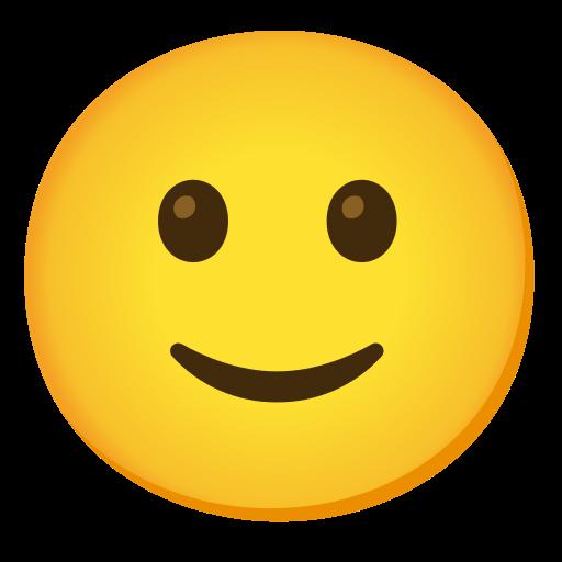 🙂 Visage Avec Un Léger Sourire Emoji