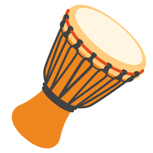 Long Drum Emoji It's important for is to have an emoji that identifies us. long drum emoji
