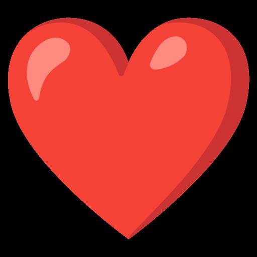 Emoji rotes herz Snapchat emoji