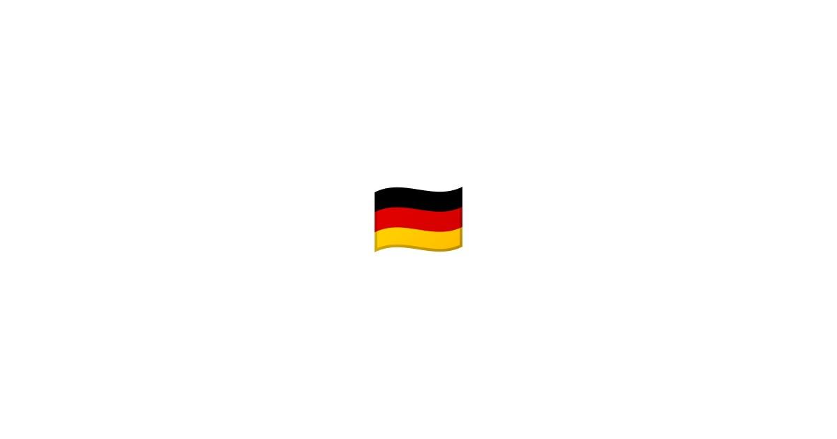 Deutsche Flagge Emoji