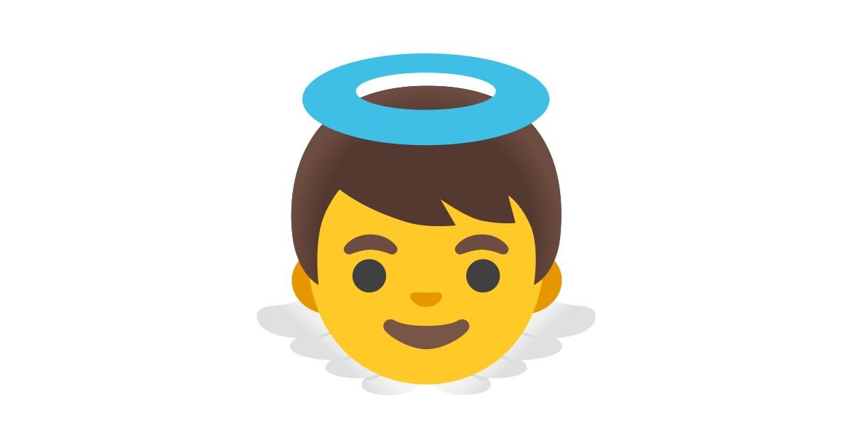Bebe Ange Emoji