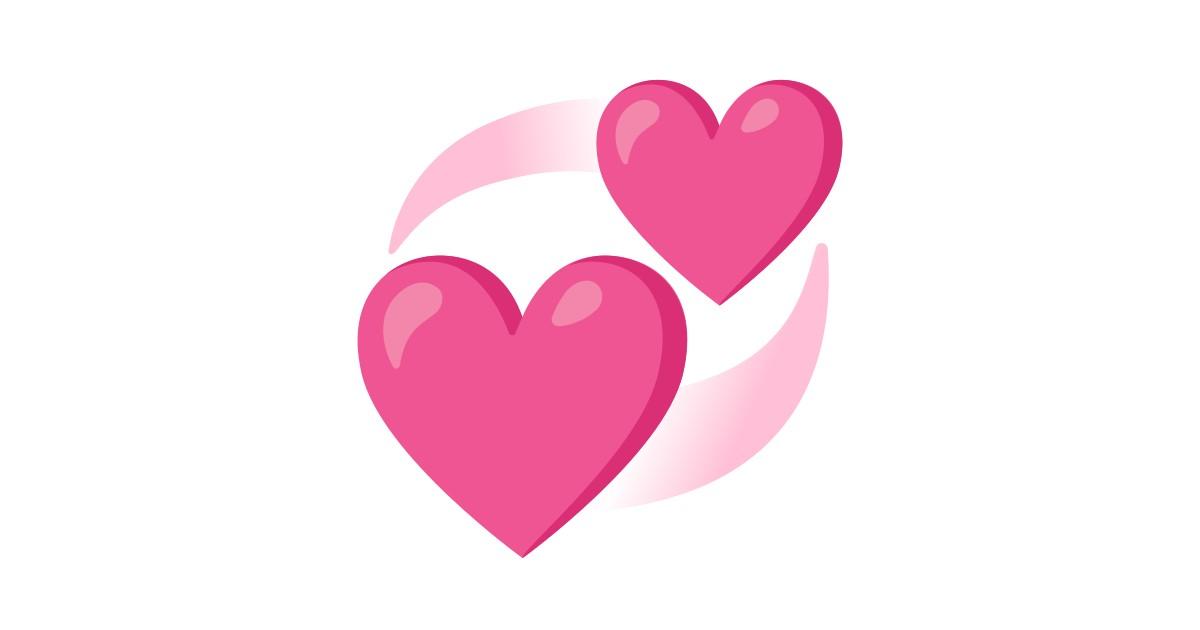 💞 kreisende Herzen-Emoji