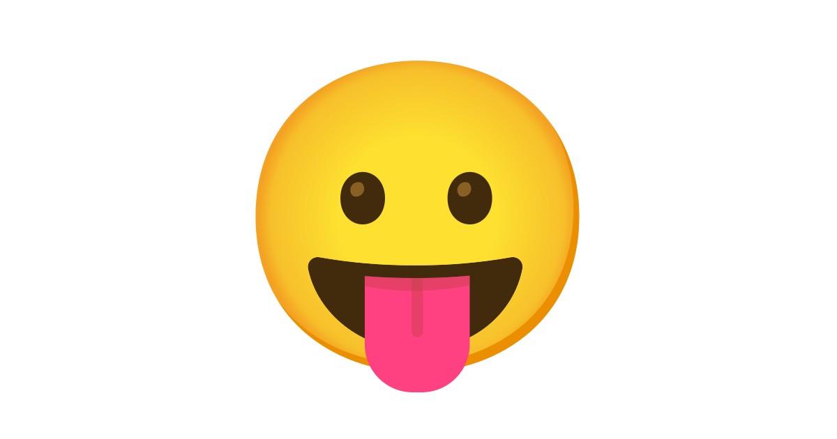 Visage Qui Tire La Langue Emoji