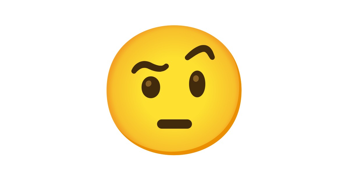Face With Raised Eyebrow Emoji 🤨 face with raised eyebrow emoji was approved as part of unicode 10.0 standard in 2017 with a u+1f928 codepoint and currently is listed in 😀 smileys & emotion category. face with raised eyebrow emoji