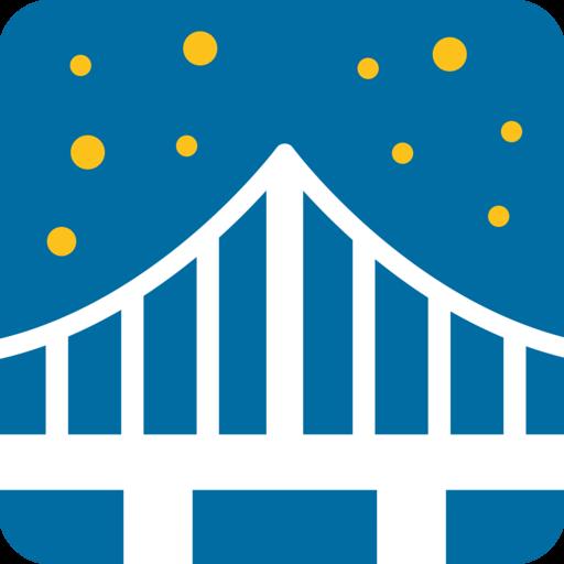 🌉 Bridge At Night Emoji