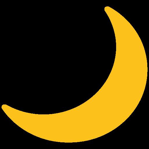 ? Spicchio Di Luna Emoji