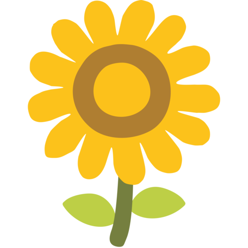 Girasol Emoji