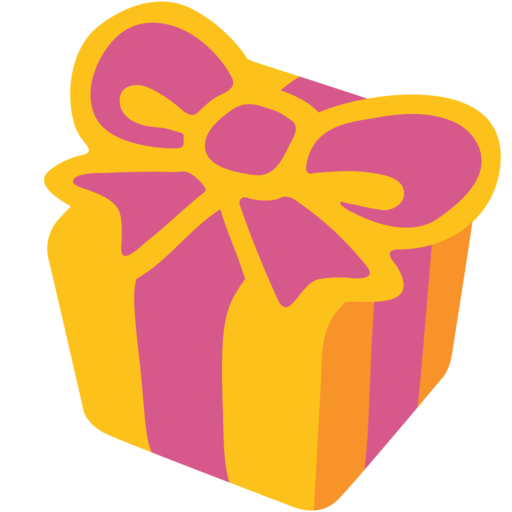 Pacco regalo emoticon