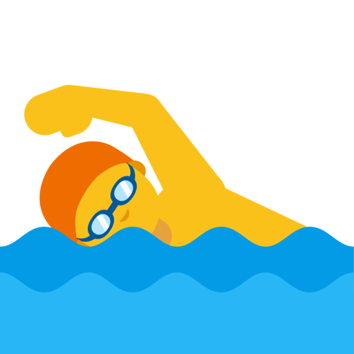 Image result for swimming emoji