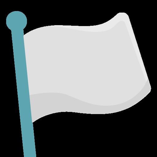 que significa la bandera blanca de la paz